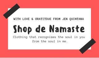 Tag Shop de Namaste